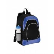 Rucsac Tableta Everestus BN 600D poliester si ripstop negru albastru saculet de calatorie si eticheta bagaj incluse