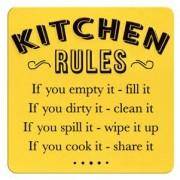 tinnen magneet - kitchen rules