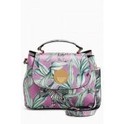 Womens Next Mini Lock Tote Bag - Lilac