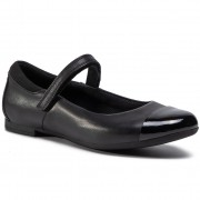 Ниски обувки CLARKS - Scala Gem Y 261495576 Black Leather
