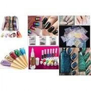 Nail Art Kit Combo Complete set for Birthday gift Girls Women.