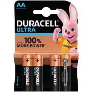 Duracell Ultra Power AA Pack von 4 (MX1500B4)