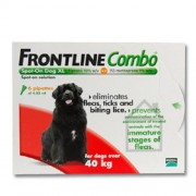 Frontline Combo Spot-On for X-Large Dogs over 40kg (88lbs), 6 Pack