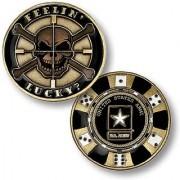 Feelin Lucky - Army Challenge Coin