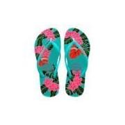Chinelo Feminino Slim Floral Havaianas