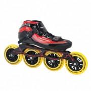 Tempish GT 500 110 Inline Speed Skates unisex zwart/rood maat 39