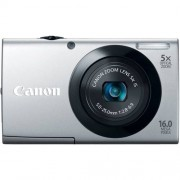 Canon PowerShot A3400 IS 16.0 MP Digital Camera with 5x Optical Image Stabilized Zoom 28mm Wide-Angle Lens with 720p HD Video Recording and 3.0-Inch Touch Panel LCD (Silver) (OLD MODEL)