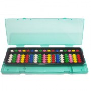 17 rod Student Multicolor Abacus with box
