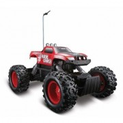 Maisto Tech Radio Red Control Rock Crawler RC Remote Control Race Truck