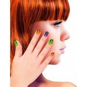 WIDMANN - Neppe spookhuis nagels voor kinderen - Schmink > Nep nagels