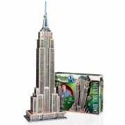 Puzzle 3D Wrebbit - New York : Empire State Building, 975 piese (12834)