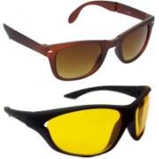 Redleaf Wayfarer, Sports Sunglasses(Brown)
