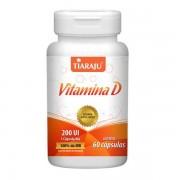 Vitamina D 60 Cápsulas Softgel - Tiaraju