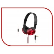 Sony MDR-ZX310AP Red
