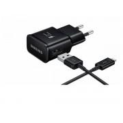 Incarcator retea Samsung Fast Charger EP-TA20CBCQGCH + cablu Type-C (Negru)
