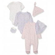 Mothercare - Set cadou 6 piese body, Floral