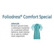 Foliodress műtéti kabát Comfort Special megerősített, krepp+törlő nélkül L 28db