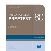 The Official LSAT Preptest 80: Dec. 2016 LSAT, Paperback/***