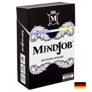 MINDJOB: German Version. an Adult Party Game That Will Blow Your Mind (Optional Drinking Rules Included)
