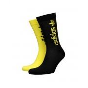 ADIDAS Solid Crew Socks 2-Pairs