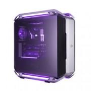 Кутия Cooler Master COSMOS C700P, E/ATX/mATX/miniITX, 4x USB 3.0, 1x USB 3.1 Gen2 Type C, извит прозрачен темпериран панел, модулна, RGB подсветка, без захранване
