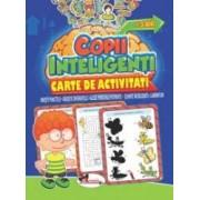 Jocuri pentru copii inteligenti +3 ani. Carte de activitati