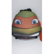 TMNT Ninja Turtles Turtle Head Plush Doll Backpack Michelangelo Orange Costumes Bag