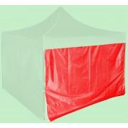 Bočná plachta 3m - hexagon, Červená