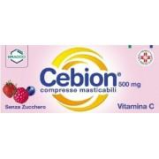 Dompe' Farmaceutici Spa Cebion 500 500 Mg Compresse Masticabili 20 Compresse Masticabili Senza Zucchero