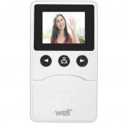 Vizor electronic pentru usa Well, ecran LCD, 2.4 inch, capacitate video