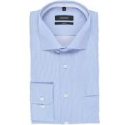 Seidensticker Comfort Fit Hemd blau/weiss, Feinstreifen