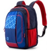 Harissons HB1148NAVYRED 38 L Backpack(Red, Blue)