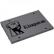Твърд диск Kingston 240GB, SSDNOW UV500, SATA 3, 2.5 инча, 6 Gbps, Сребрист. SUV500/240G
