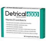 Detrical D3 4000 UI x 60 comprimate filmate Zdrovit
