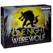 Bezier Games One Night Ultimate Werewolf Board Game, Multi Color