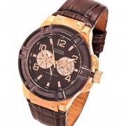 Reloj Guess W0040g3 - Marrón - Multifunción - Caballero