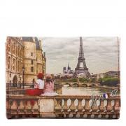 Y Not? Portafoglio Donna con Bottone Y NOT YES-346 Paris C'est La Vie