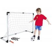 Fotbalová branka + míč + pumpička