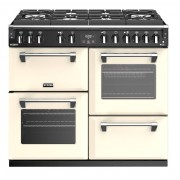 Stoves Richmond Deluxe S1000DFGTG Classic Cream 100cm Dual Fuel Range Cooker