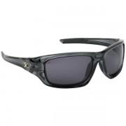 Matrix Glasses - Trans Black Wraps /Grey Lense - Zonnebril