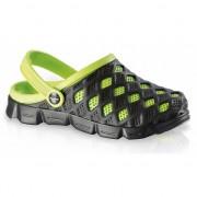 Fashy Zwem sandalen zwart/groen voor dames