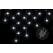 Vianočný svetelný dážď 200 LED studená biela - 4 m