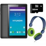 Tablet Hyundai Koral 7w3x 8gb Android 8 3g + KIT - Negro