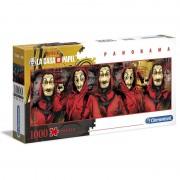 Money Heist Panorama puzzle 1000pcs