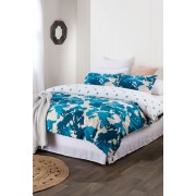 Bella Duvet Cover Set - Teal