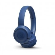 HEADPHONES, JBL T500BT, Bluetooth, Microphone, Blue (JBLT500BTBLU)