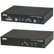 Aten CE690 USB DVI Single Link Optical Console Extender w/ audio