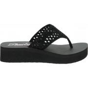 Skechers Cali Vinyasa dames slipper - Zwart - Maat 40