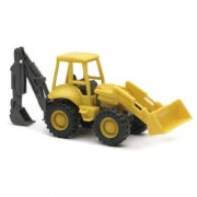 New Ray 1:43 Construction Force Series Loader Backhoe