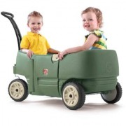 Step 2 Wagon For Two Plus Green